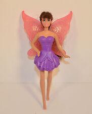 """2011 Raquelle Purple Fairy 5"""" McDonald's #2 Action Figure Barbie A Fairy Secret"""