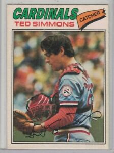 1977 opc nrmt #196 ted simmons