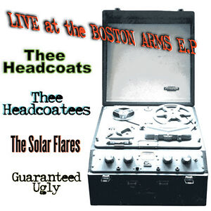 """THEE HEADCOATS HEADCOATEES SOLARFLARES 'Live at The Boston Arms' 7"""" EP Mint"""
