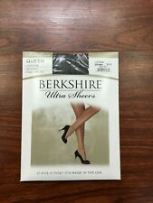 Berkshire 4411 Queen Silky Sheer Control Top Pantyhose Hosiery