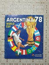 Album Panini ARGENTINA 78 WORLD CUP (1978), RARO, completo, originale