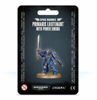 Warhammer 40K Space Marines Primaris Lieutenant with Power Sword Pre Order