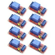 8pcs Dc 12v Channel Relay Module Board Shield With Optocoupler Support Highlow