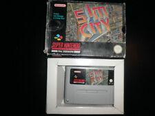 Super Nintendo, Snes -  sim city -  boxed