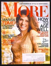 More Magazine Dec-2012 Jan2013 - Marisa Tomei - How To Age Well -