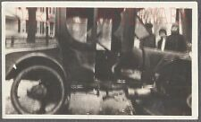 Unusual Vintage Photo Surreal Car Wreck  in Soft Blurry Focus 720789