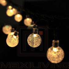 Weihnachtsdekoration 5m 50 LEDs Solar Lichterkette Partylichterkette  Lechte-WQ