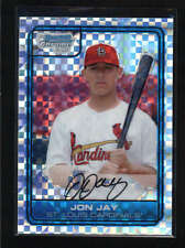 JON JAY 2006 BOWMAN CHROME #DP10 XFRACTOR ROOKIE RC #071/299 AB5402