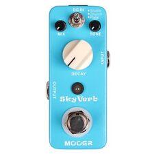 Mooer Sky Verb Digital Reverb Compact Guitar Effect Pedal w/ 3 Reverb Modes
