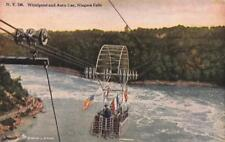 Canada,    NIAGARA FALLS~Spanish Aero Car Over Whirlpool    c1910's Postcard