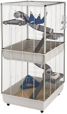 Ferplast Ferret Tower Two-Story Ferret Cage | Xxl| Ferret Cage Measures 29.5L x