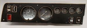 1969 1970 Dodge Charger and Roadrunner Gauge Cluster with Tic Toc Tach