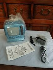 """Compact Portable B/W 5"""" TV With AM/FM Radio, 2001, NOS"""