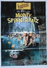 P23 Kinoplakat Die Story von Monty Spinnerratz - 1997 Augsburger Puppenkiste