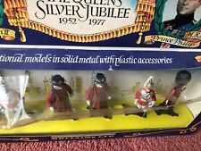 Britains toy soldiers boxed set queens 1977 silver jubilee