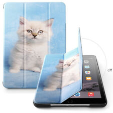 For Apple iPad Air Cover Case w/Auto Sleep/Wake Function Cute Kitty