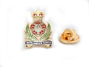 Intelligence Corps Military Lapel Pin Badge