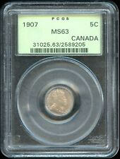 1907 Canada Ten Cents - PGCS MS63
