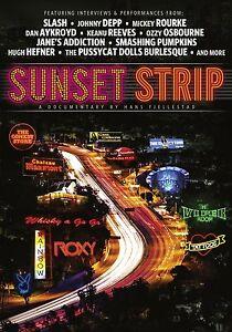 SUNSET STRIP Slash Johnny Depp Mickey Rourke DVD in Inglese NEW .cp