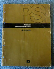 John Deere Grain Drills Product Service Information Manual PSI 610N  golc