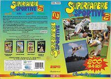 SUPERPAPERE SPORTIVE 2 (1995) vhs ex noleggio