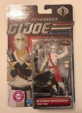 "STORM SHADOW (RENEGADES) Cobra GI JOE The 30th 2011 3.75"" Inch Action FIGURE"