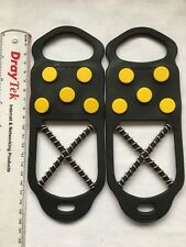 ICE SNOW GRIP GRABBERS Overshoe Winter/Hols. Safety Studs Soles/Covers Size 1-5