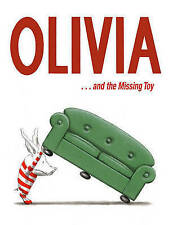 Ian Falconer OLIVIA .... AND THE MISSING TOY large hardcover temper tantrums