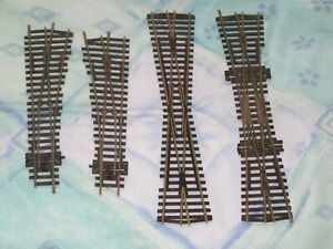 PECO OO gauge LH RH Short Points crossover double slip crossover