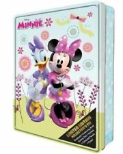 NEW Disney Minnie Mouse Limited Edition Collector's Tin Activity Book & Gift Set