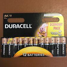 Duracell AA Long Lasting Power Alkaline Batteries Economy Pack 12 Batteries LR6