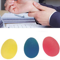 Autism Mood Squeeze Egg Stress Ball Hand Finger Exercise Stress Relief Toy C5X