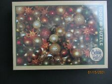 "COBBLE HILLJIGSAW PUZZLE ""CHRISTMAS BALLS"" - 1000 PC. BRAND NEW/SEALED"