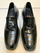 COLE HAAN  Men's Black Leather Slip-On Shoes 10M