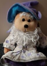 Beanie Kids Elderon the Wizard Bear TAG IS MINT