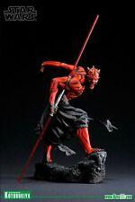 Star Wars Kotobukiya 1/7 Darth Maul statue light up sabre new rare