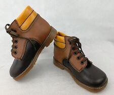 chaussures bottines enfant neuf VINTAGE ANCIEN P.23 CUIR semelle crêpe FRANCE