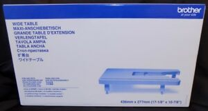 BROTHER WIDE EXTENSION TABLE WT15 FITS MODELS M280D A16 A50 A80 A150