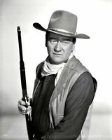 John Wayne B/W 8x10 Glossy Photo