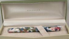 Levenger True Writer Spring Bouquet Amp Chrome Rollerball Pen New In Box