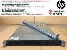 HP DL360p Gen8 2x E5-2670v2 20-Cores 64GB P420i/512MB FBWC 8SFF 1U Rack Server