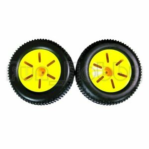HSP 17703 Buggy Wheel Complete Yellow 2pcs For RC 1/10 RC Car Truck Buggy