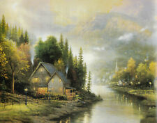A Picture Of Simplicity Thomas Kinkade An Fine Art 8X10 Print