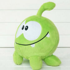 "7""Om nom frog plush toys Game Cartoon Anime soft stuffed classic doll Xmas Gifts"