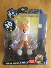 Sonic The Hedgehog Tails Super Posers Action Figure Brand New Jazwares