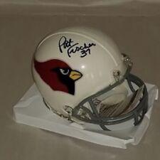 Pat Fischer Signed St Louis Cardinals Mini Helmet JSA