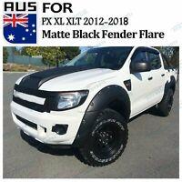 Fits Ford Ranger PX Wheel Arch Fender Flare Wide Body Matte Black 6pcs 2012-15