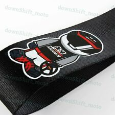 High Strength JDM MUGEN Tow Strap Front Rear Bumper Towing Hook for Honda Acura