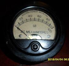 DeJUR Model 310 0-100 DC Milliamperes Analog Panel Meter