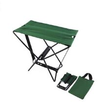Folding Pocket Fishing Chair Canvas Seat Metal Frame Lightweight 250LB Portable